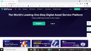 bitforex page